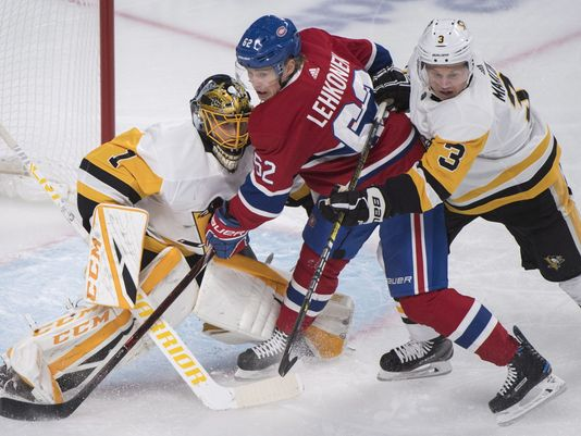 Habs Top Pens in OT