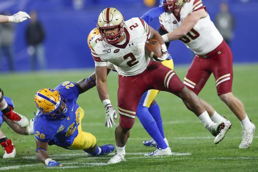 Dillon, Boston College trample Panthers 26-19
