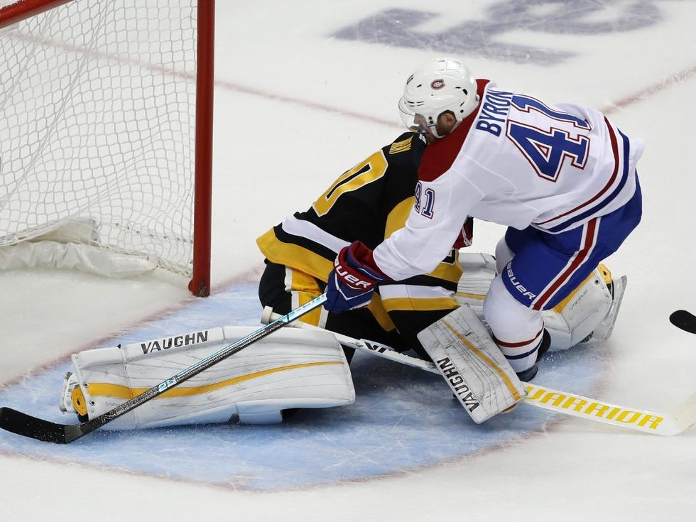 Penguins sluggish in 5-1 loss to Canadiens