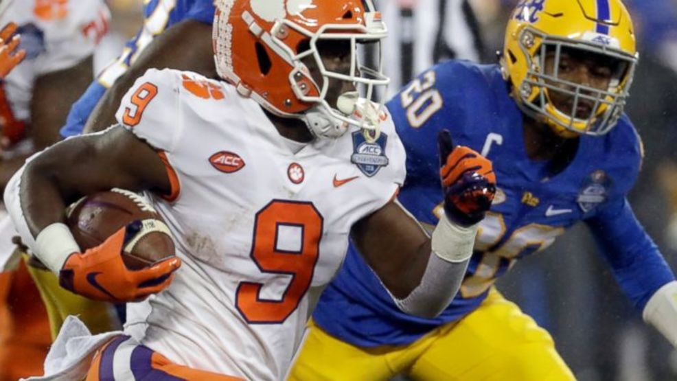 Clemson captures fourth straight ACC title in 42-10 thumping of Pitt