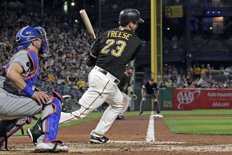 Freese Knocks in All Five Runs in Pirates 5-4 Walk Off of Mets
