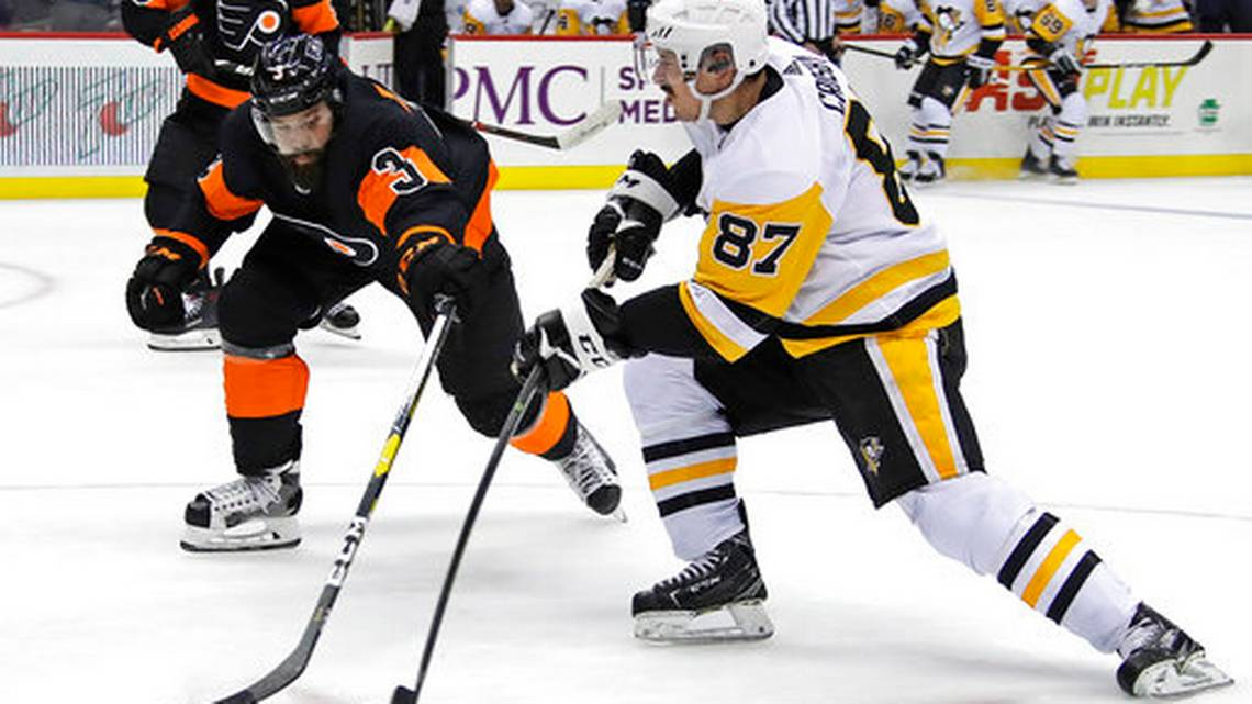 Weise leads Flyers in 4-2 win over Pittsburgh