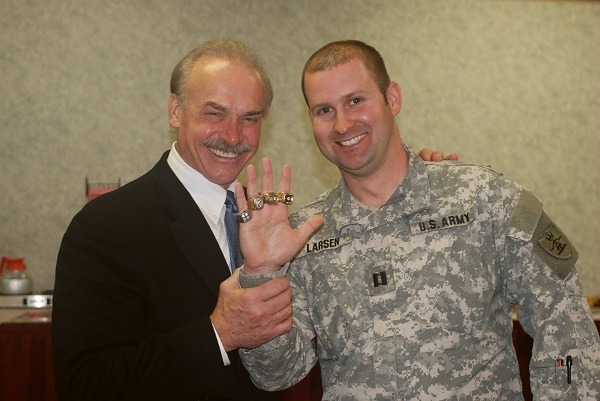 Up Close with Rocky Bleier