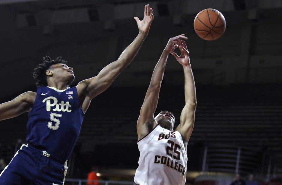 Pitt drops 66-57 decision at Boston College
