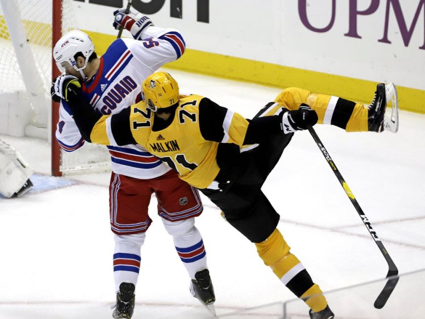 Malkin, Letang lifts Penguins to 6-5 win over Rangers