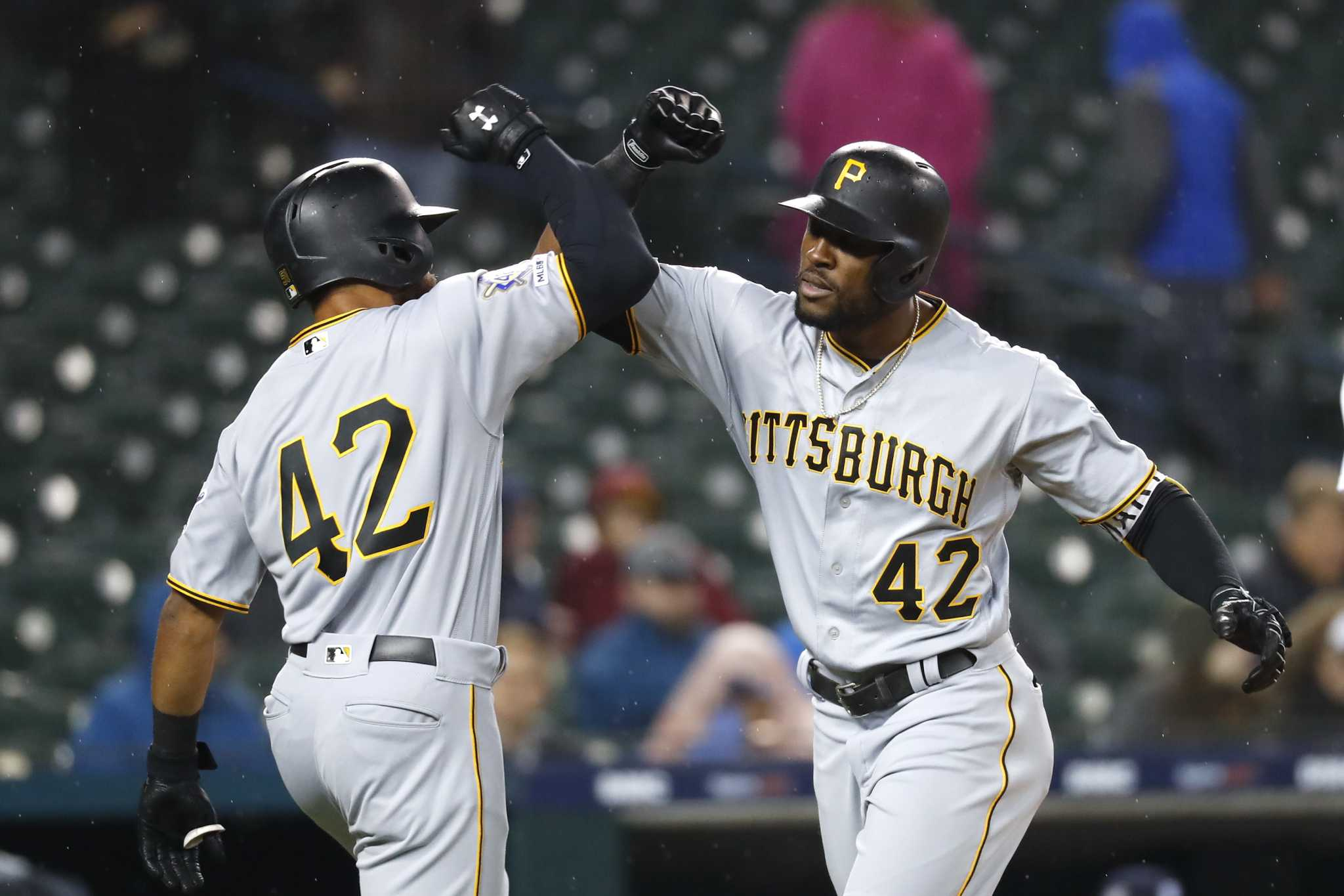 Marte homers in 10th to lead Pirates over Tigers 5-3
